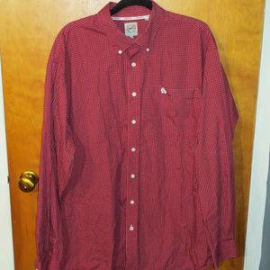 Cinch Geometric Pattern L/S Button Front Shirt XL
